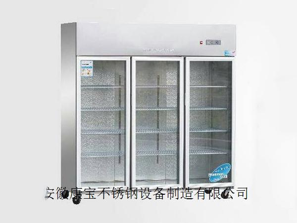 da三门玻璃展示冰柜