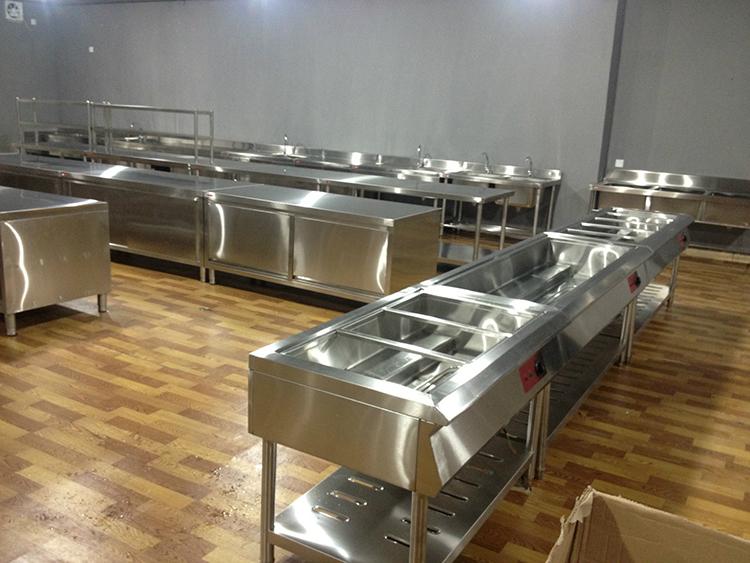 酒店商用厨房设备安装方法与注意事项